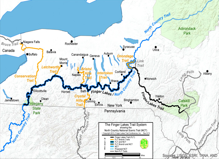About the Finger Lakes Trail - Fingerlakes Trail Conference