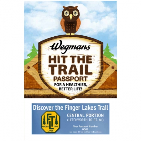 Finger Lakes Trail Central Passport Guidebook