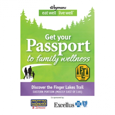 Finger Lakes Trail Eastern Passport Guidebook