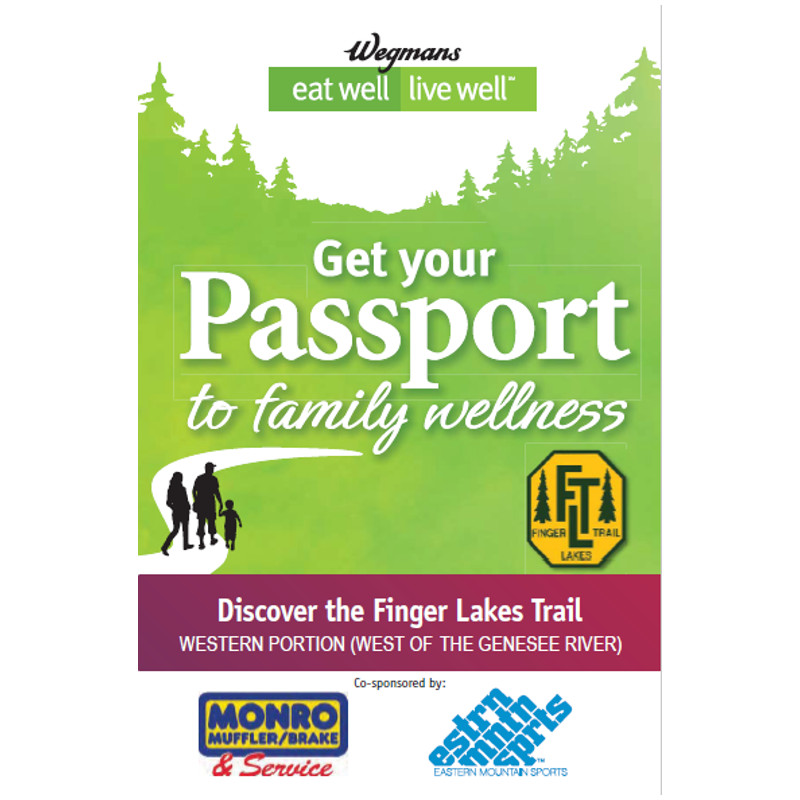 Finger Lakes Trail Western Passport Guidebook