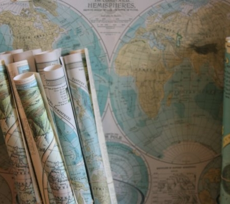 Paper Map Sets